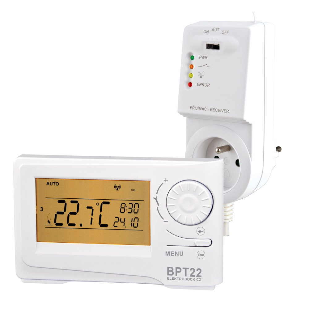 ELEKTROBOCK BPT22/BT22 - Bezdrátový termostat