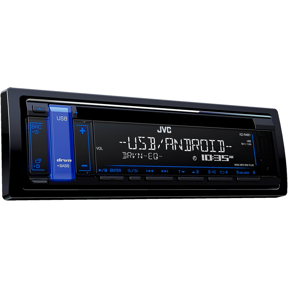 KD-R481 AUTORÁDIO S CD/MP3/USB JVC
