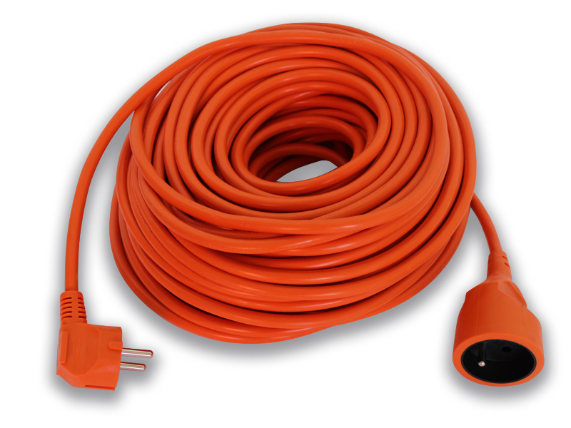 prodlužovací kabel 1 zásuvka 30m oranž. 3x1,5 PS08