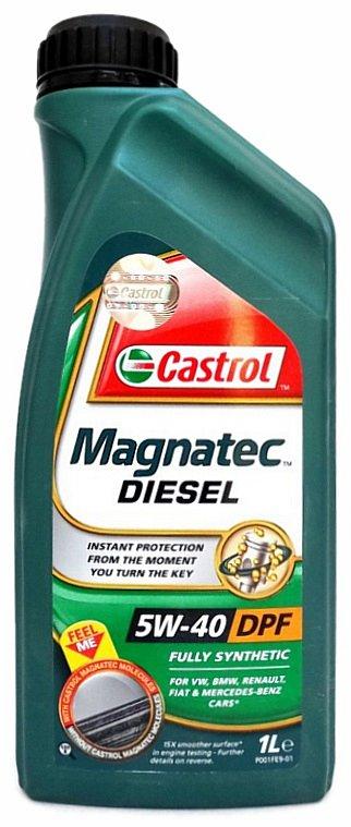 Olej motorový Castrol magnatec diesel 5W-40 DPF 1L