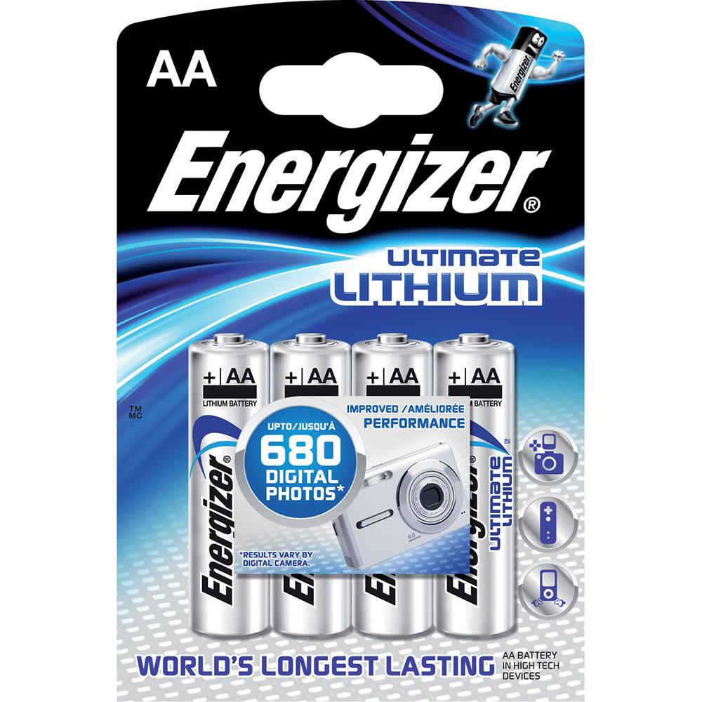 baterie AA Ultimate Li ENERGIZER/ 4 ks