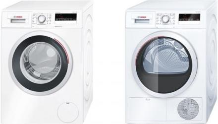 Set Bosch - pračka WAN28260CS + sušička WTH85201BY