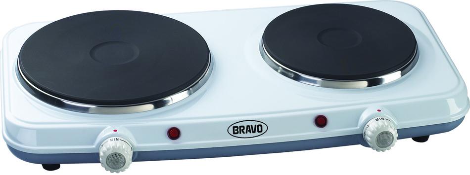 Dvouplotýnkový vařič Bravo B 4603 SMALTOVANÝ